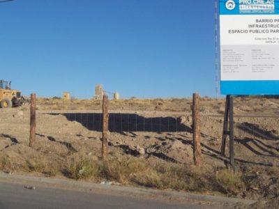 CODAM comenzó con el plan 184 viviendas de Zapala
